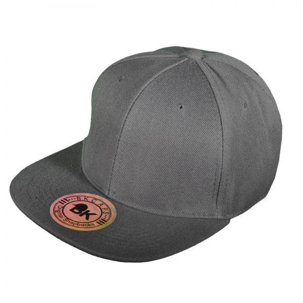 buy blank gray snapback hats online