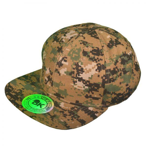 order blank digtial camo snapback hats online